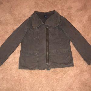 GAP Brand Charcoal Grey Utility Jacket